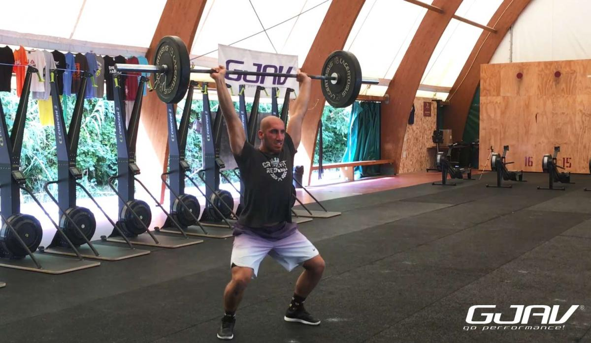 tutorial push jerk crossfit gjav integratori
