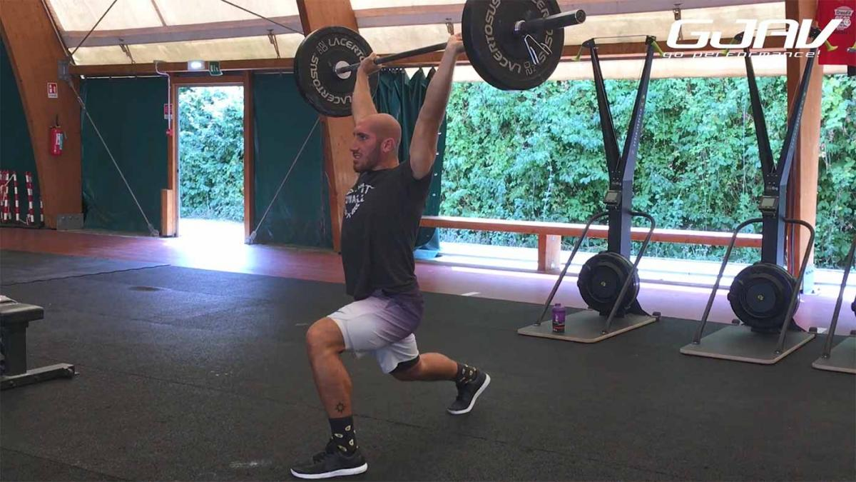 split jerk tutorial crossfit gjav integratori
