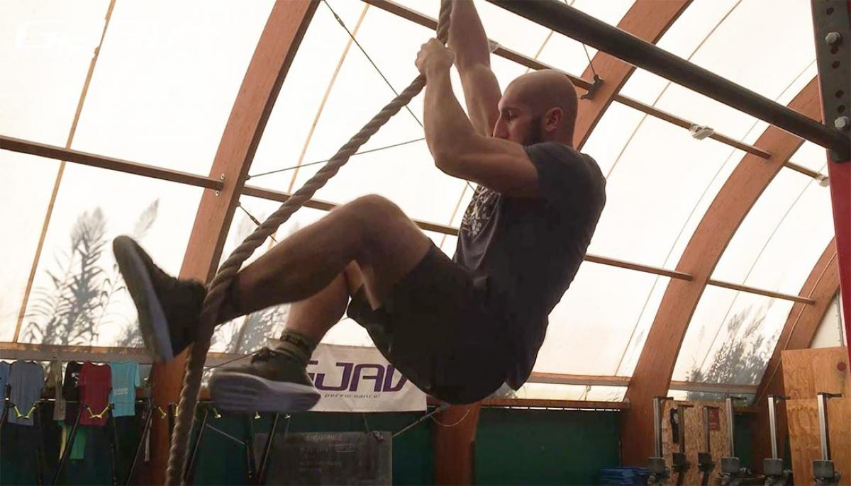 rope climb crossfit tutorial gjav