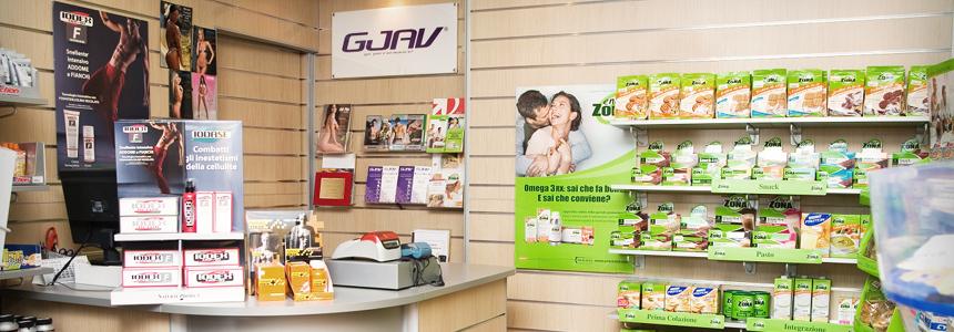 gjav franchising negozio integratori alimentari dieta a zona