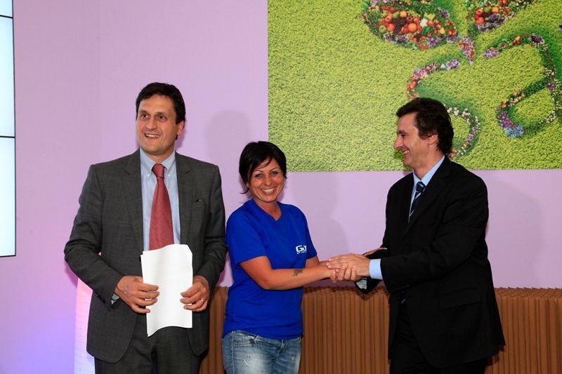 premiazione SANA 2012 Vanessa Aretini GJAV