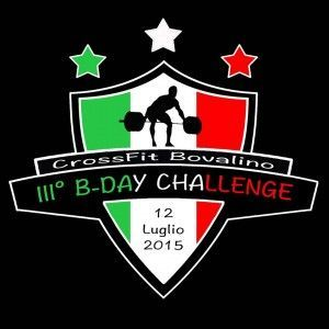 crossfit Bovalino b-day challenge