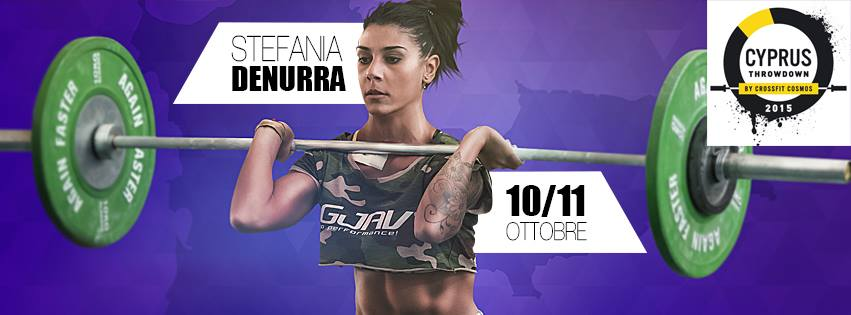 stefania denurra al cyprus throwdown