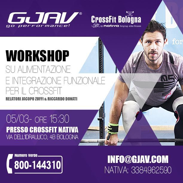 Workshop CrossFit Bologna by Nativa