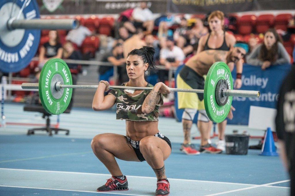 crossfit competitor