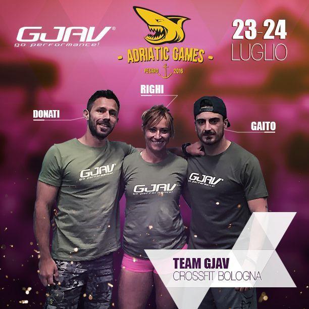 GJAV CrossFit Bologna agli Adriatic Games 2016