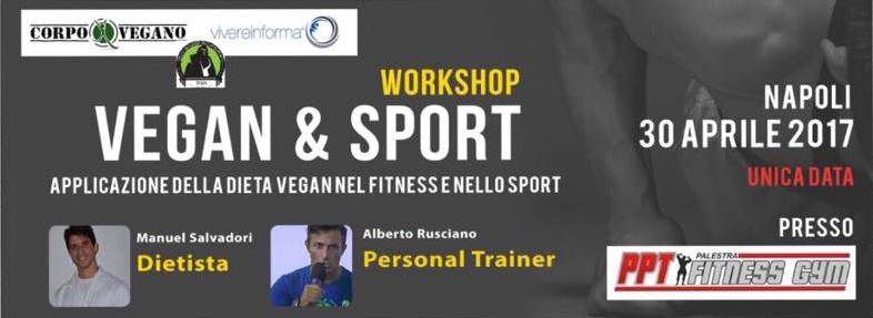 Il workshop Vegan & Sport organizzato da Corpo Vegano