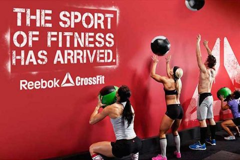 crossfit wod box