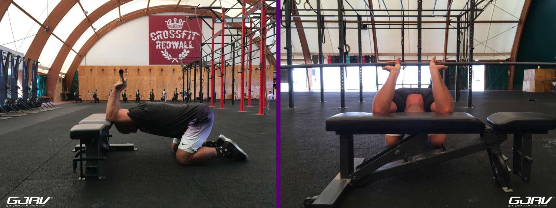 mobilità spalle push jerk gjav tutorial