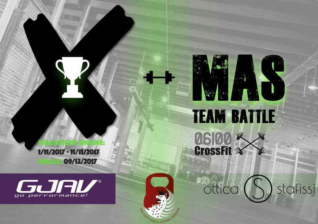 XMAS Team Battle by CrossFit 06100