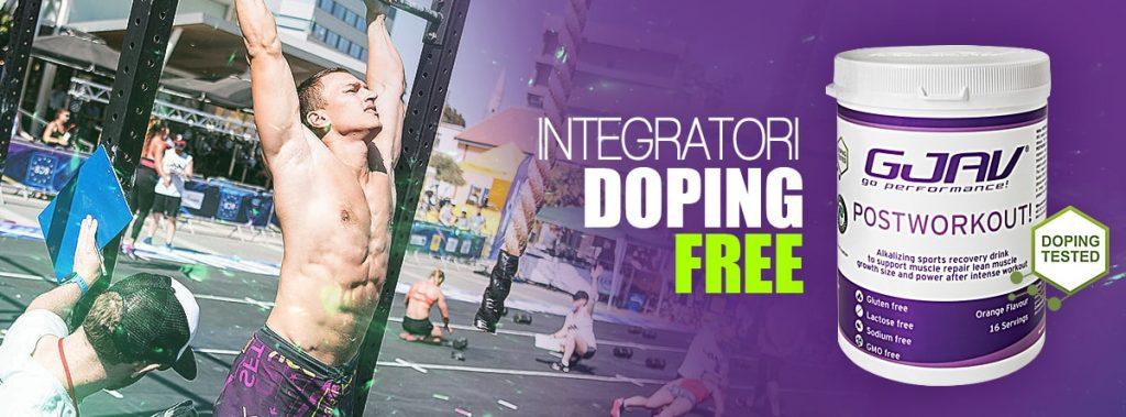 integratori doping free Postworkout GJAV