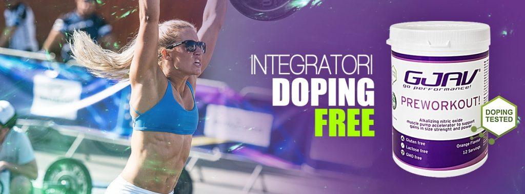 integratori doping free Preworkout! GJAV
